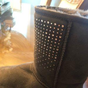 Bling ugh boots
